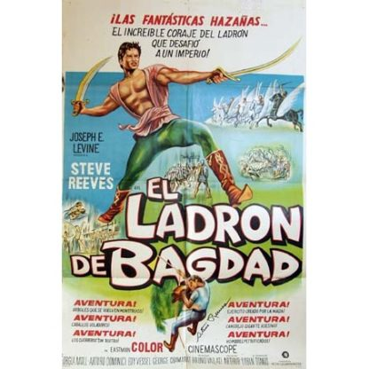 IL Ladro Di Bagdad (Italian Language Version) (1961)
