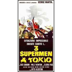 3 Supermen In Tokyo (1968)