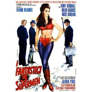 3 Fantastic Supermen (Italian Language Version) (1967)
