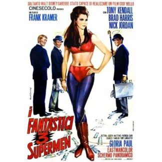 3 Fantastic Supermen (Italian Language Version) (1967)