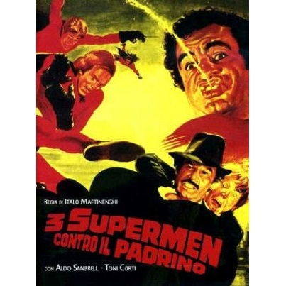 3 Supermen Against The Godfather (Italian Language Version) (1979)