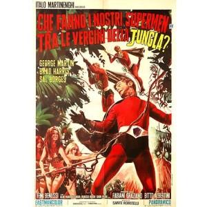 3 Supermen In The Jungle (Italian Language Version) (1970)