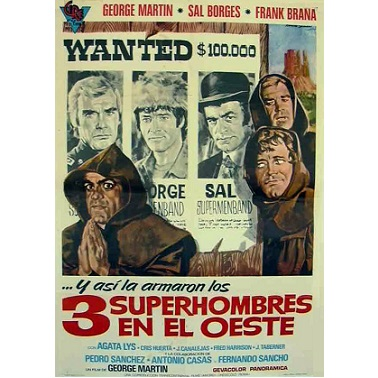 3 Supermen Of The West (1973)
