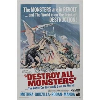 Destroy All Monsters (AIP English Language Version) (1968)