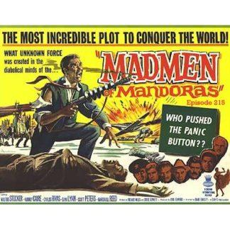 Madmen Of Mandoras (1963)