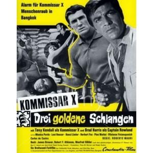 Kommissar X: Drei Goldene Schlangen (1969)