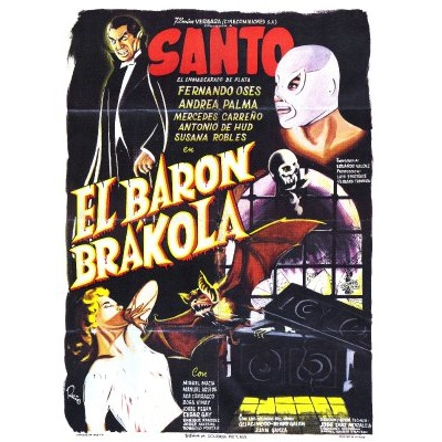 Santo En El Baron Brakola (1967)