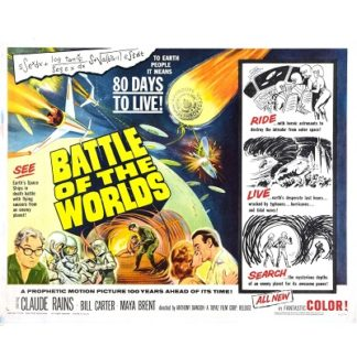 Battle Of The Worlds (English Language Version) (1961)