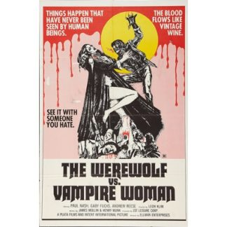 The Werewolf vs. Vampire Woman (1971)