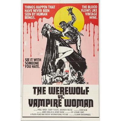The Werewolf vs. Vampire Woman (1971)