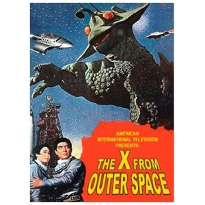 X From Outer Space (English Language Version) (1966)