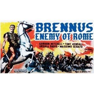Brennus, Enemy Of Rome (Widescreen Version) (1963)
