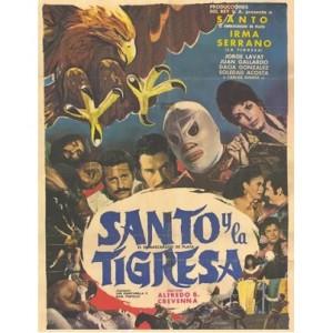EL Santo Y La Tigresa (1973)