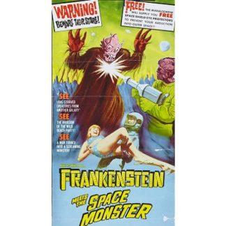 Frankenstein Meets The Spacemonster (1965)