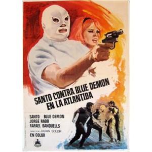 Santo Contra Blue Demon En La Atlantida (1970)