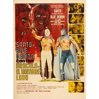 Santo And Blue Demon vs Dracula And The Wolfman (1973)