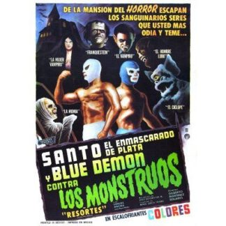 Santo And Blue Demon vs. The Monsters (1970)