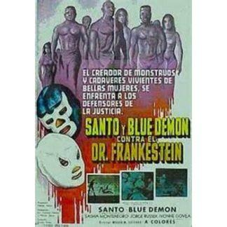 Santo And Blue Demon vs. Dr. Frankenstein (1974)