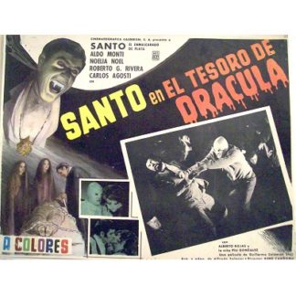 Santo In The Treasure Of Dracula (1969)