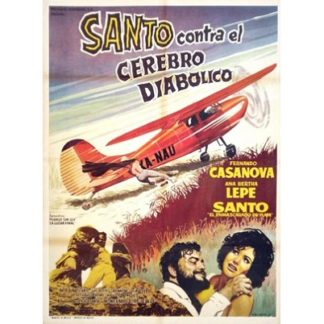 Santo Contra El Cerebro Diabolico (1963)