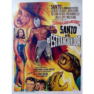 Santo Contra El Estrangulador (1965)