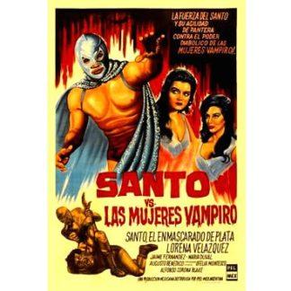 Santo Contra Las Mujeres Vampiro (Spanish Language Version) (1962)