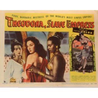 Theodora, Slave Empress (English Language Version) (1954)
