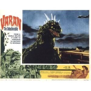 Varan The Unbelievable (English Language Version) (1962)