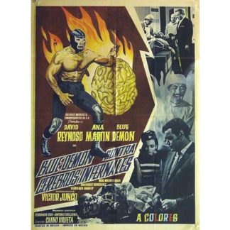 Blue Demon vs The Infernal Brains (1968)