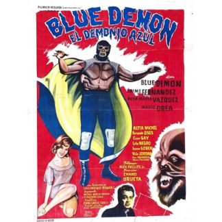 Blue Demon El Demonio Azul (1965)