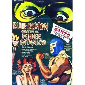 Blue Demon Contra El Poder Satanico (1966)