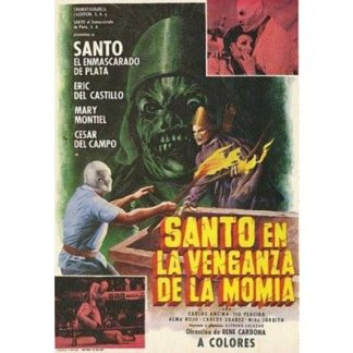 Santo In The Vengeance Of The Mummy (1971)