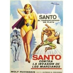 Santo vs The Martian Invasion (1967)