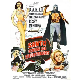 Santo Contra Los Secuestradores (1973)
