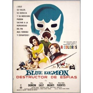 Blue Demon Destructor De Espias (1968)