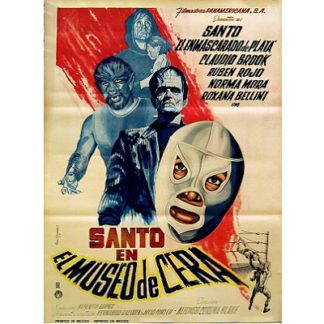 Santo En El Museo De Cera (Spanish Language Version) (1963)