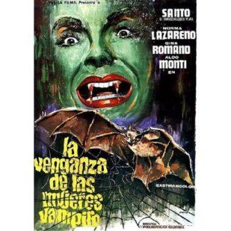Santo In The Vengeance Of The Vampire Women (1970)