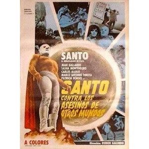 Santo vs The Killers From Space (1973)