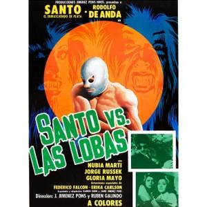 Santo vs Las Lobas (1976)
