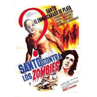 Santo Contra Los Zombies (1962)