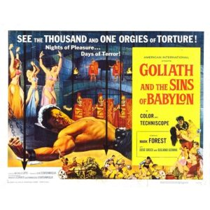 Goliath And The Sins Of Babylon (1963)