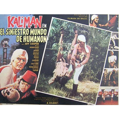 Kaliman In The Sinister World Of Humanon (1974)