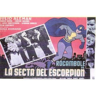 Rocambole vs. The Sect Of The Scorpion (1965)