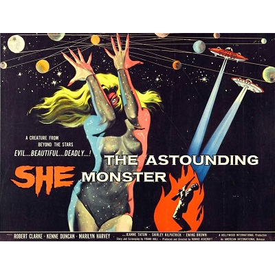 The Astounding She Monster (1958)