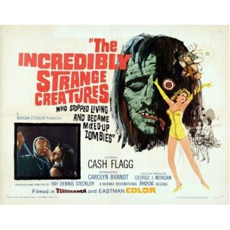 The Incredibly Strange Creatures Who Stopped Living And Became Mixed-Up Zombies!!? (1963)