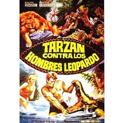 Tarzak Against The Leopards Men (1964)