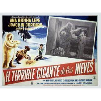 EL Terrible Gigante De Las Nievas (1962)