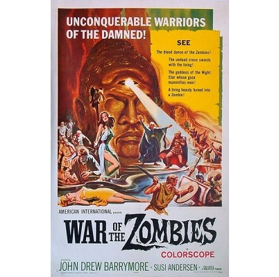War Of The Zombies (1963)