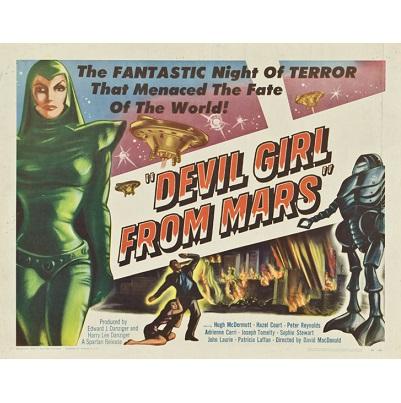 Devil Girl From Mars (1956)