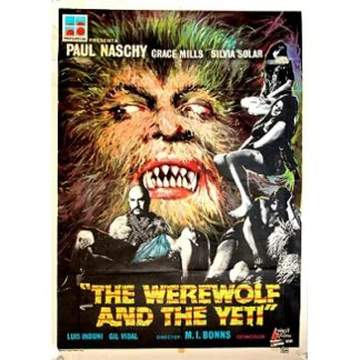 The Werewolf And The Yeti (1975)